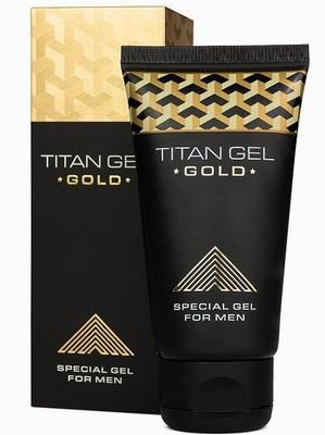 Гель для увеличения члена Titan Gel Gold (50 мл)