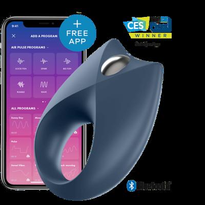 Виброкольцо Satisfyer Royal One с возможностью управления через смартфон