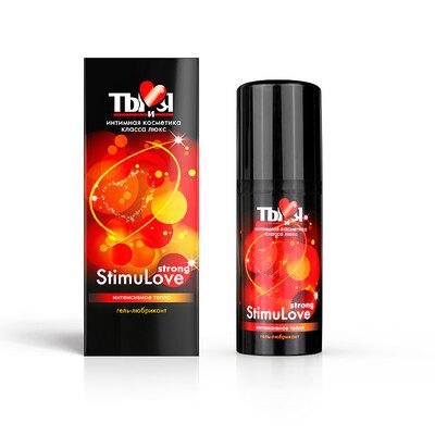 Любрикант с согревающим эффектом Stimulove Strong (50 мл)