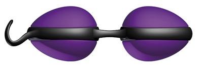 Вагинальные шарики со смещенным центром тяжести JoyDivision Joyballs secret фиолетовые