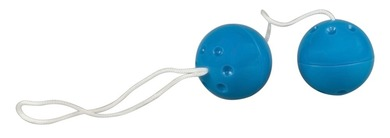"""Вагинальные шарики со смещенным центром тяжести """"Sarah?s Secret"""" синие"""