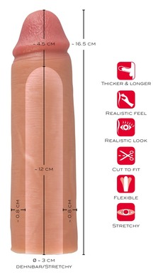 Удлиняющая насадка на пенис Penis Sleeve