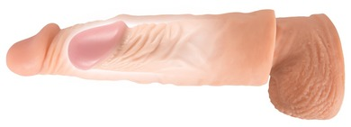 Увеличивающая насадка Nature Skin Extension Sleeve 19,5 см