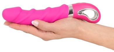 Перезаряжаемый вибратор для точки G с функцией нагрева Smile Warming Soft Vibrator