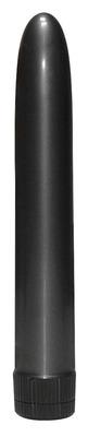 Классический чёрный вибратор Onyx Vibrator