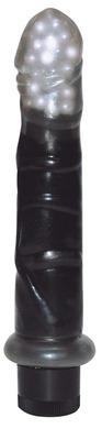 Вибратор с шариками Mini Black Jewel