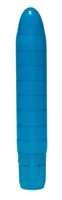 Вибратор классический синий Soft Wave