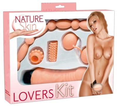 Эротический набор секс игрушек Nature Skin Lovers Kit