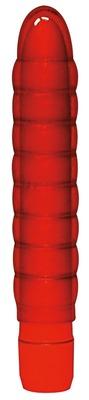 Классический вибратор красный Soft Wave Vibrator