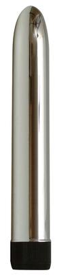 Классический серебристый вибратор Silver
