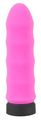 Мини-вибратор волнистый перезаряжаемый розовый Power Vibe Wavy