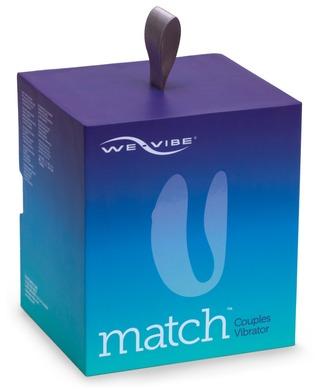 We-Vibe Match Вибратор для пар голубой с дистанционным пультом