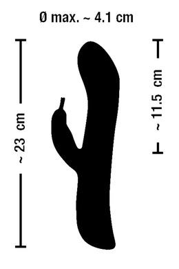 Перезаряжаемый вибратор-кролик с ротацией Smie Rechargeable Rotating Vibrator