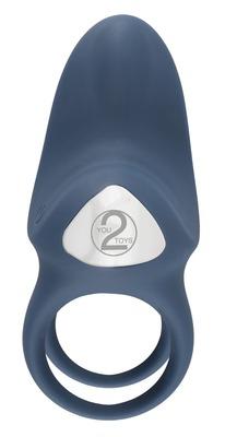 Перезаряжаемое двойное виброкольцо Vibrating Double Ring