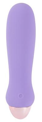 Перезаряжаемый фиолетовый мини вибратор Cuties Mini