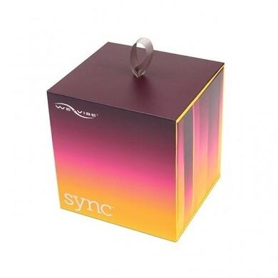 We-Vibe Sync Фиолетовый вибромассажер для пар с дистанционным пультом