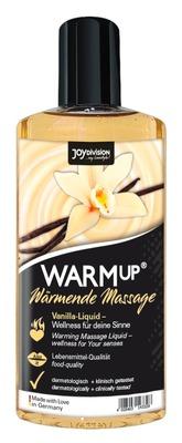 Съедобное разогревающее массажное масло со вкусом ванили JoyDivision WARMup (150 мл)