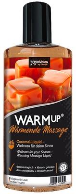 Съедобное разогревающее массажное масло со вкусом карамели JoyDivision WARMup (150 мл)