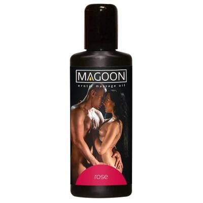 Масло массажное возбуждающее Magoon Rose (100 мл)