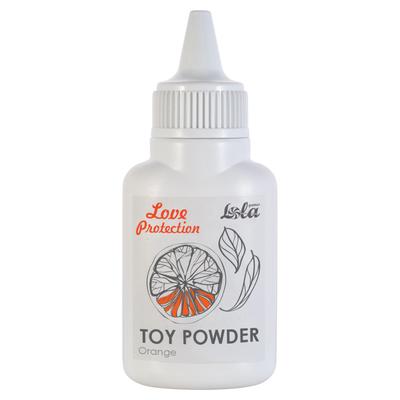 Пудра для игрушек Love Protection с ароматом апельсина (15 г)