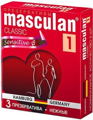 Презервативы Masculan-1 Classic №3 нежные