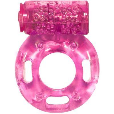 Эрекционное кольцо с вибрацией Rings Axle-pin pink