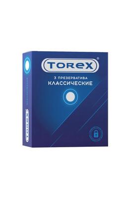 Презервативы латексные классические TOREX (3 шт)