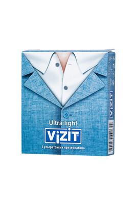 Презервативы ультратонкие VIZIT Ultra light (3 шт)