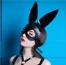 Маска Bunny ручной работы из натуральной кожи