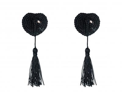 Пэстисы черные с кисточкой Burlesque Gipsy