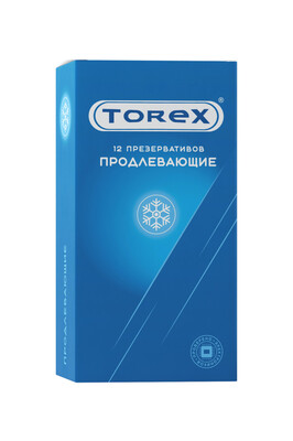 Презервативы латексные продлевающие Torex (12 шт)