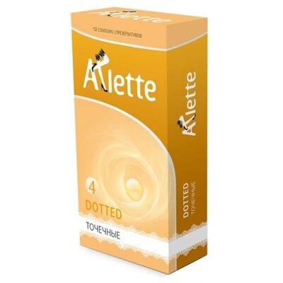 Точечные презервативы Arlette Dotted (12 шт)