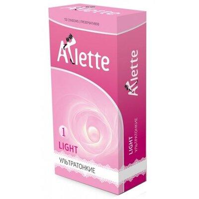 Ультратонкие презервативы Arlette Light (12 шт)