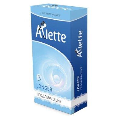 Продлевающие презервативы Arlette Super Longer (12 шт)