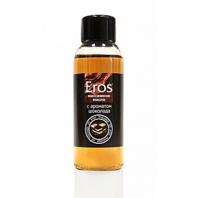 Массажное масло с ароматом шоколада Eros Exotic (50 мл)