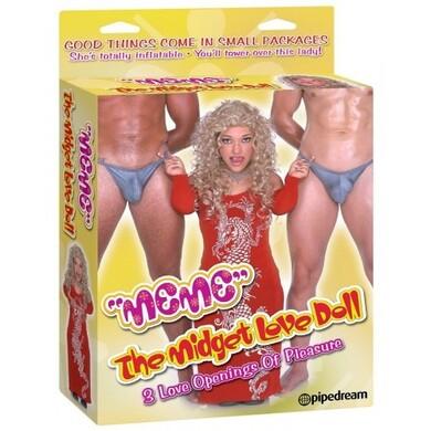 Надувная кукла лилипут для секса Meme the midget Love Doll