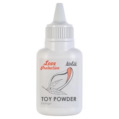 Пудра для игрушек Love Protection с ароматом манго (15 г)
