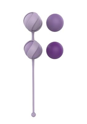 Набор фиолетовых вагинальных шариков Love Story Valkyrie