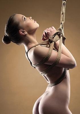 Веревка коричневая Shibari Rope 10 метров