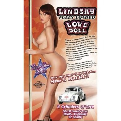 Надувная кукла для секса Lindsay Fully Loaded Love Doll