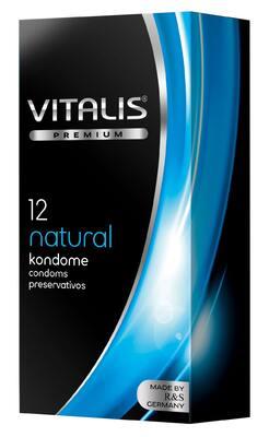 Презервативы VITALIS premium NATURAL классические (12 шт)