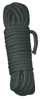 Веревка для связывания чёрная Bondage Rope (3 м)