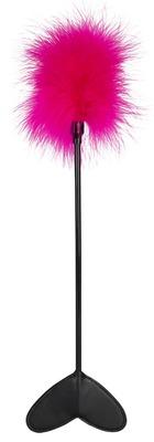 Стек-тиклер с розовым пушком Feather Wand