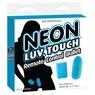 Виброяйцо на дистанционном управлении Neon Luv Touch Remote Control Bullet Blue