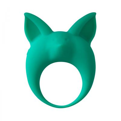 Виброкольцо эрекционное зеленое Mimi Animals Kitten Kyle