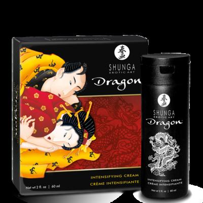 Возбуждающий крем для пар Shunga Dragon c эффектом «ледяного огня» (60 мл)