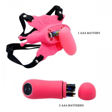 Беспроводной вибростимулятор бабочка Ultra Passionate