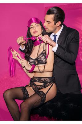 Набор для бондажа Introductory Bondage Kit #6 розовый