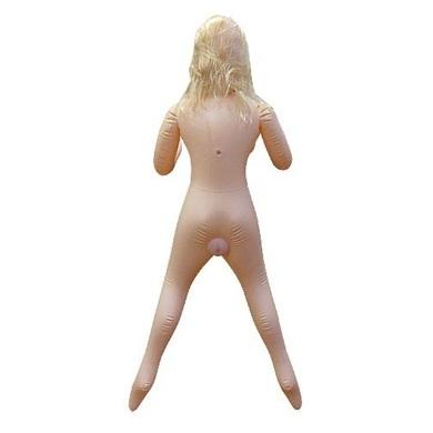 Надувная 3D кукла блондинка