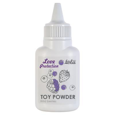 Пудра для игрушек Love Protection с ароматом лесных ягод (15 г)